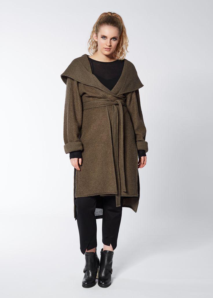 Under Wraps Jacket in Cargo by Euphoria Design