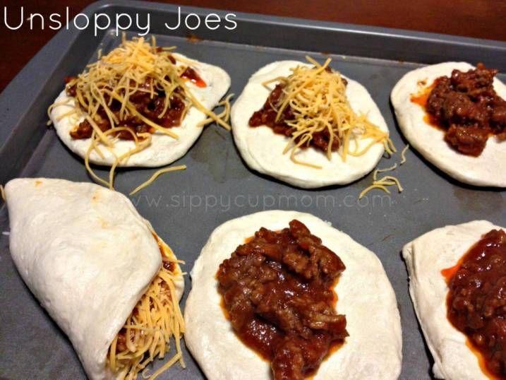 Recipe: Unsloppy Joes
