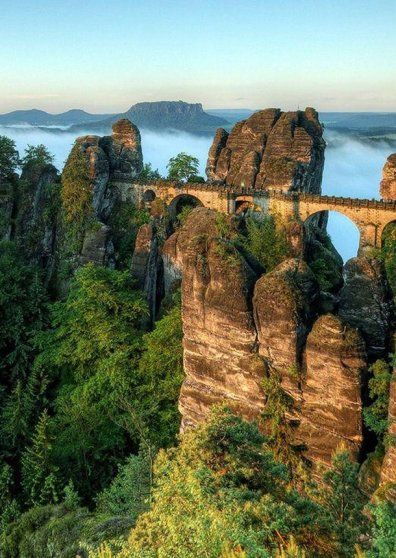 The Bastei Bridge, Germany