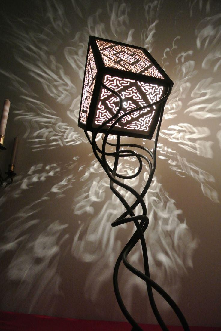 Les 20 meilleures id es de la cat gorie lampe fer forg sur pinterest - Lampe fer forge ...