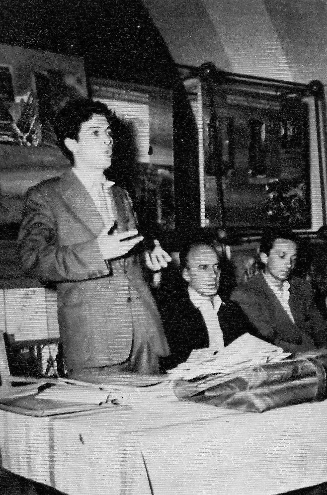 Enrico Berlinguer, 1950, Roma