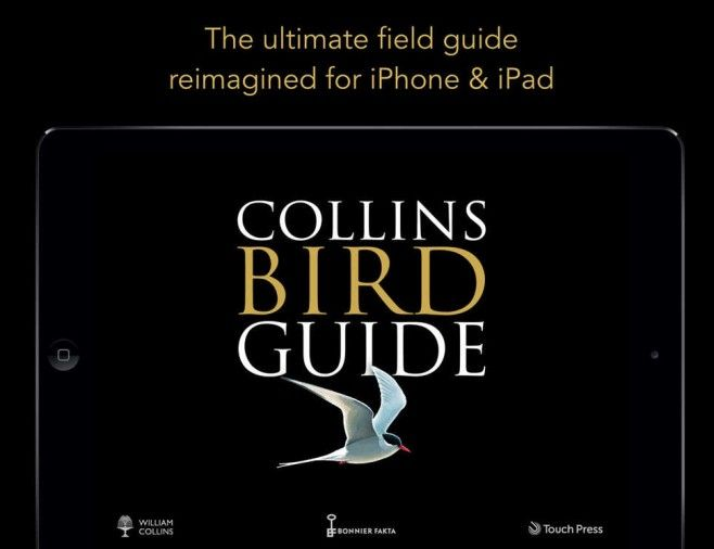 Collins Bird Guide App – The Ultimate Field Guide for Britain & Europe Over 700 species covered, got to love it!