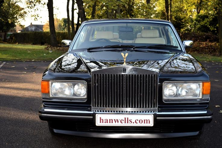 1990 G Rolls Royce Silver Spirit MK II Active Ride. Finished in Royal Ebony with Magnolia interior piped in Beluga and Beluga carpets piped in Magnolia. Only 77,000 miles with history. Known to ourselves and immaculate throughout £15.950 Full Details:      http://hanwells.net/rolls-royce-select/rolls-royce-silver-spirit/1990-g-rolls-royce-silver-spirit-mk-ii-active-ride-in-royal-ebony-15-950