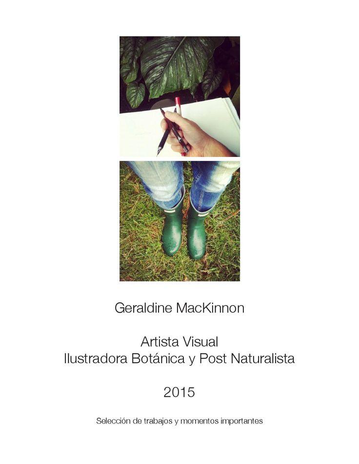 Dossier Geraldine MacKinnon 2015