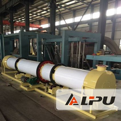 Organic Fertilizer Production Line -Shanghai Lipu Capacity: 0.5-30ton/hour Application: suitable to drying Chicken manure, cattle manure, pig manure, pigeon dung and other poultry manure, straw and other agricultural wastes, biogas residue, kitchen garbage.
