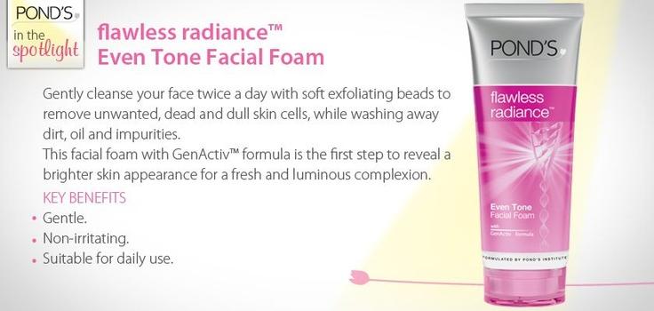 flawless radiance Even Tone Facial Foam