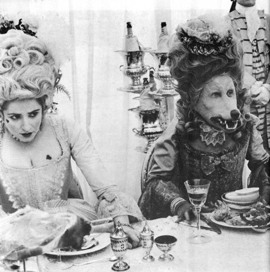 Great theme party inspiration (Marie Antoinette meets Mad Hatter Tea Party)
