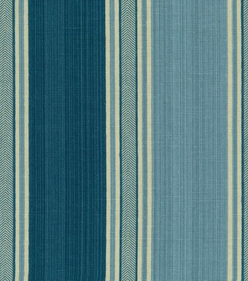 Waverly Upholstery Fabric-Spotswood Stripe Porcelain