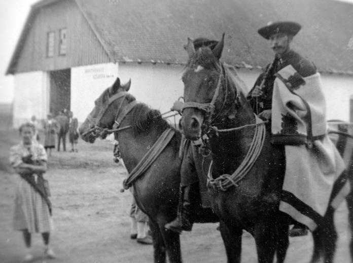 Gulyás Hungarian Cowboys in Hortobágy, Great Hungarian Plain, Hungary in the 1930's