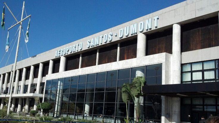 Aeroporto do Rio de Janeiro / Santos Dumont (SDU) em Rio de Janeiro, RJ