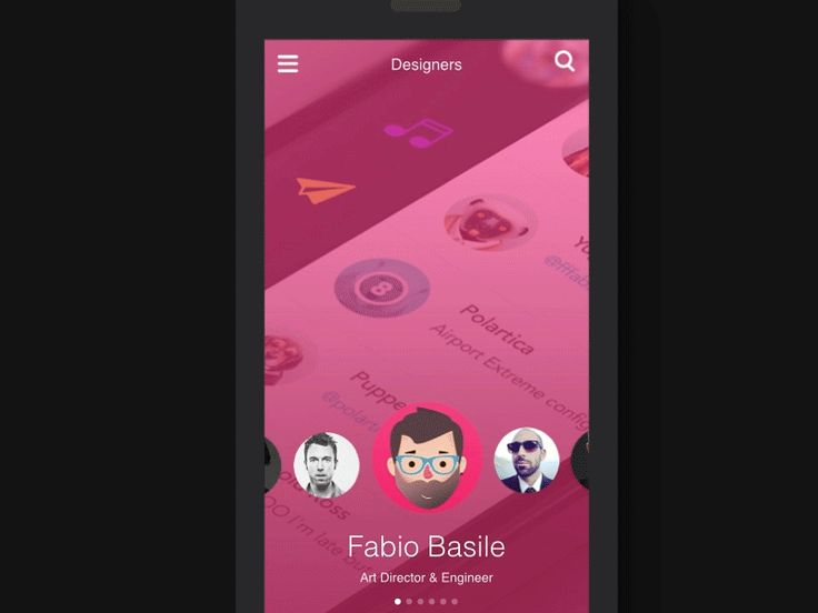 Designers - animated GIF by Frank Rapacciuolo