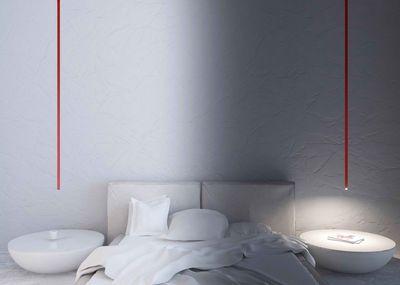 Suspension Iosif / LED - H 150 cm Rouge - Artemide 390€