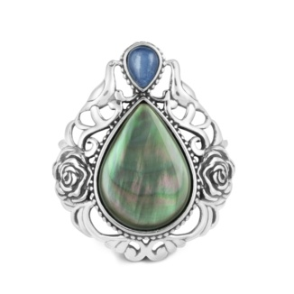 Carolyn Pollack Jewelry | Rose Manor Black Mother of Pearl Enhancer