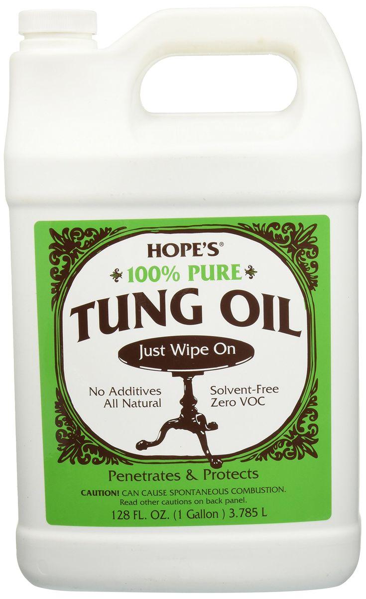 Hope Company 128to2 100% Pure Tung Oil - 1 Gallon