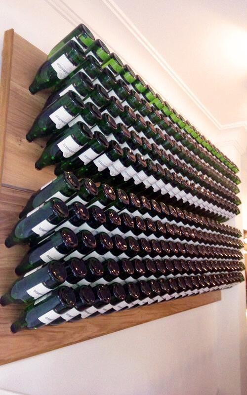 M s de 1000 ideas sobre cantinas de madera en pinterest - Botelleros de pared ...
