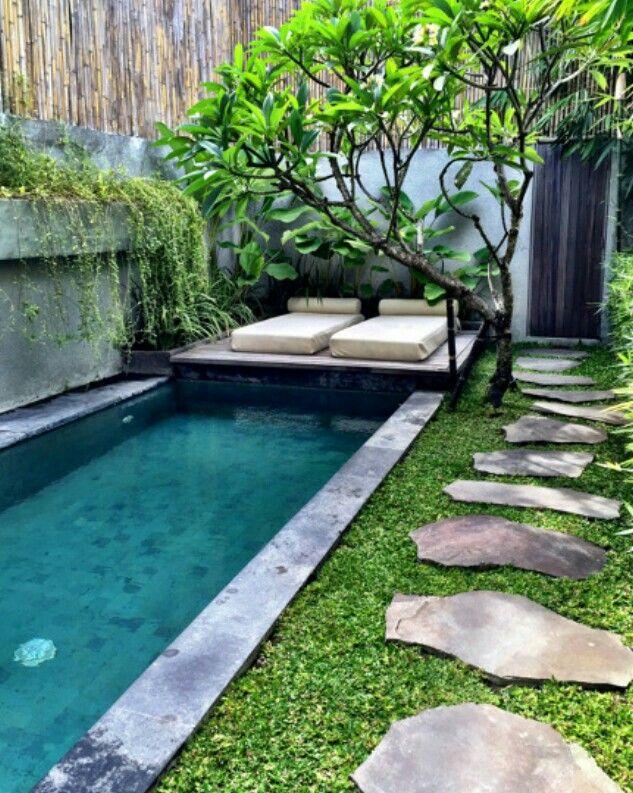 7 besten Gartenideen Bilder auf Pinterest - gartengestaltung reihenhaus pool