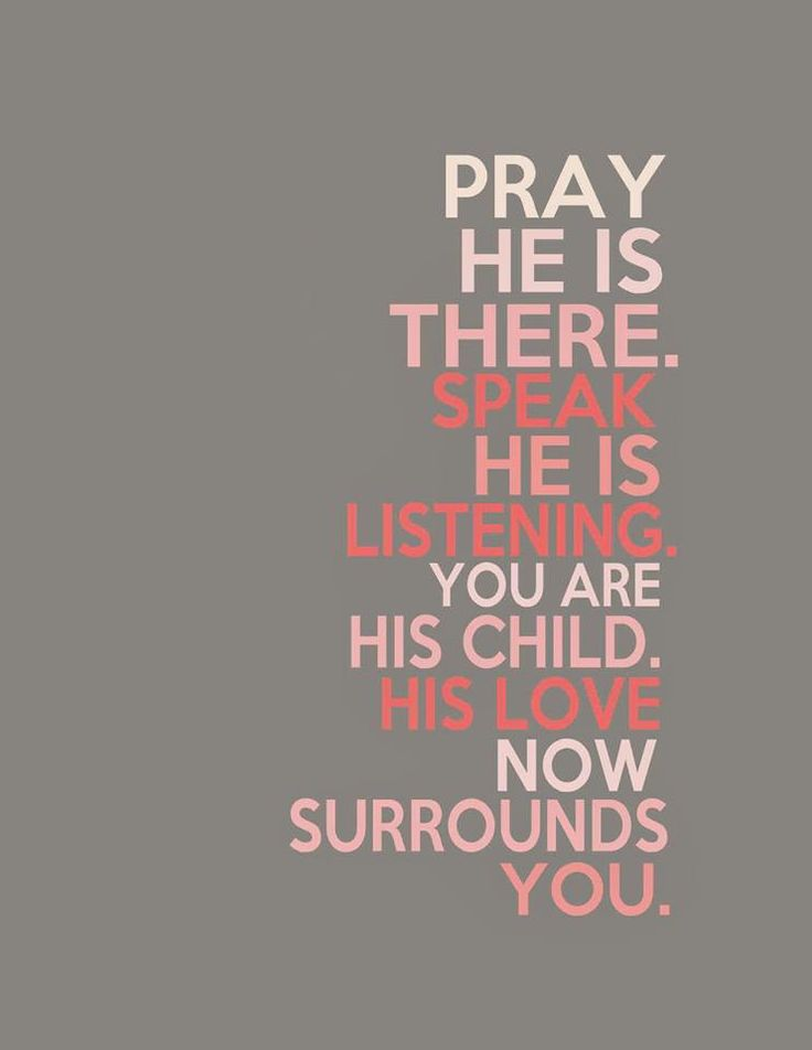 A child s prayer