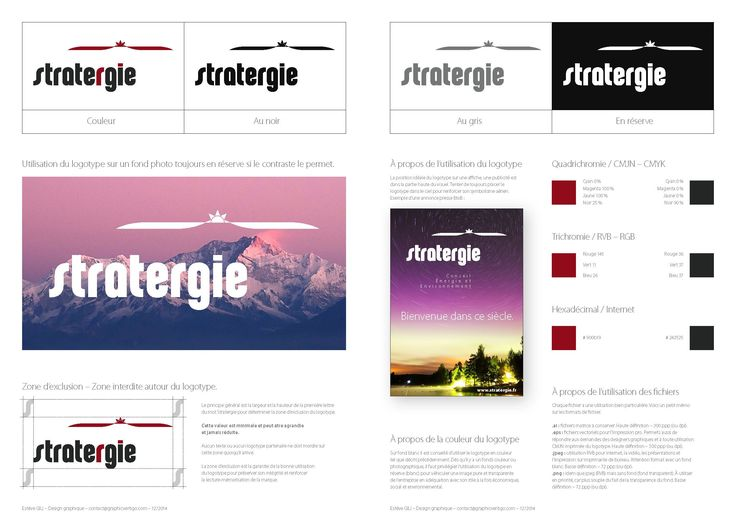 Green policy with Stratergie Logotype, global branding, & webdesign