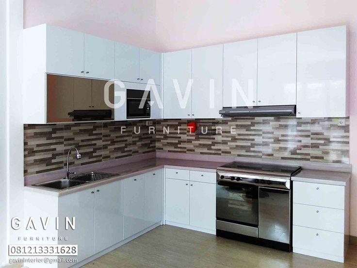 design interior kitchen set minimalis. hasil produksi lihat pada halaman portofolio Contoh Kitchen Set Dengan  Aneka Model kitchen set dengan 7 best images on Pinterest sets