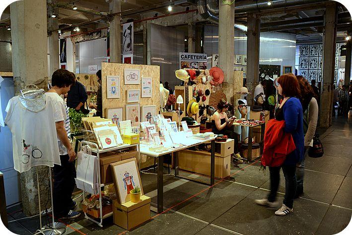 Mercado Central de Diseño: Mercado de jóvenes emprendedores en el Matadero de Madrid