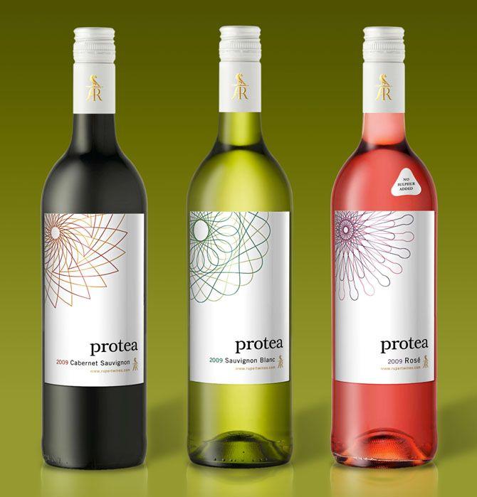 Rupert Wines Protea - Simon Frouws Design wine / vinho / vino mxm