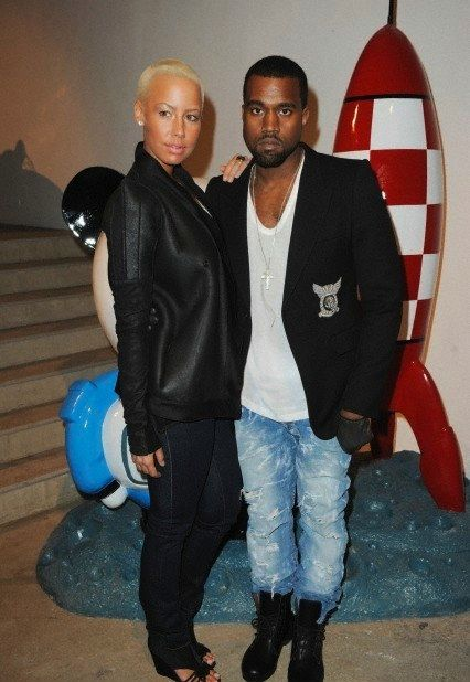 Photo 3 - Kanye West pays Amber Rose seven figures to keep her mouth shut + a contract!?