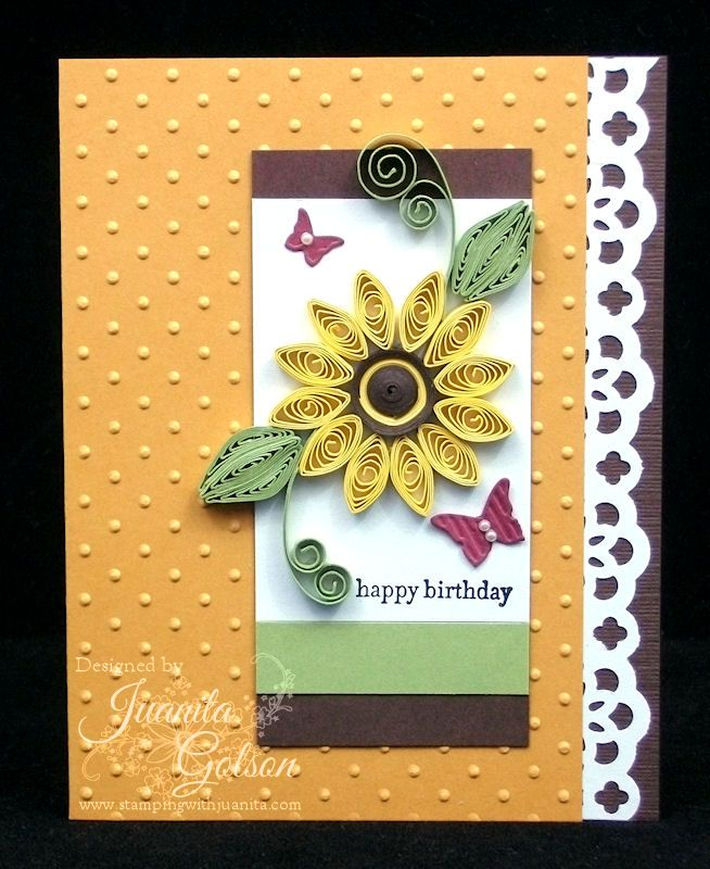 Birthday Card Quilling - Google Search