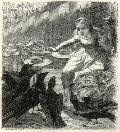 """Seven for a secret never to be told (The Grimms, """"Seven Ravens"""")"""