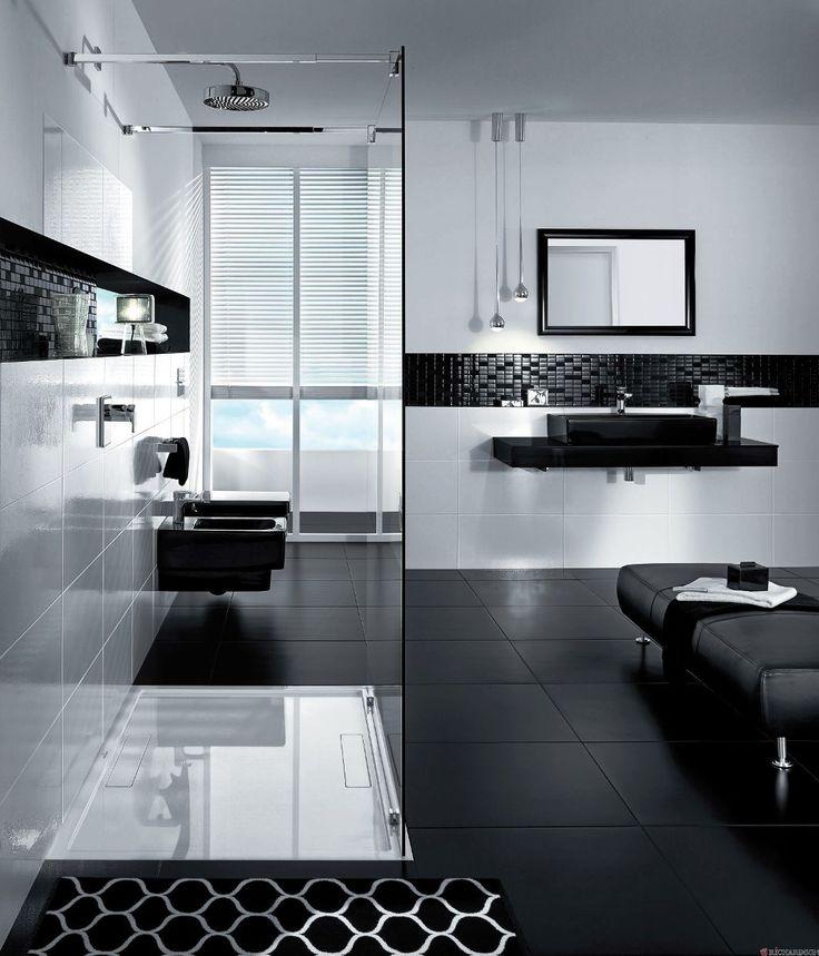 Black And White Bathroom Decor 2015   Real House Design