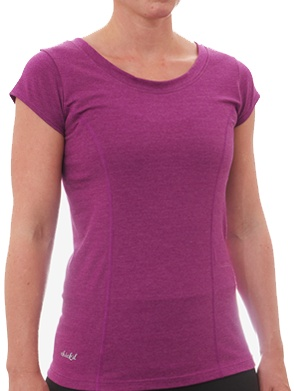 Reprieve tee - the perfect blend of style and performance from organic cotton and reprieve polyester