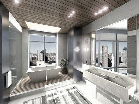 Ammettiamolo, se si aveva un bagno che offre una splendida vista dello skyline parigino, in particolare la Torre Eiffel, passare ore in là i...