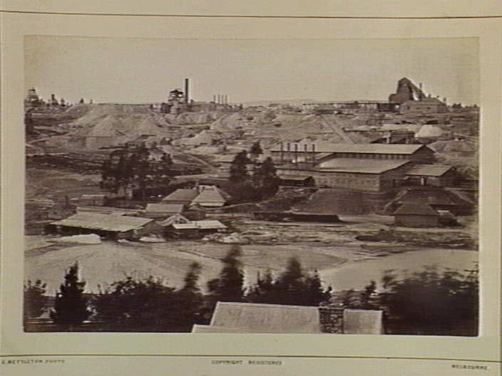 Clunes. Port Phillip Mining Claim 124 Miles N from Melbourne [picture] , State Library of Victoria