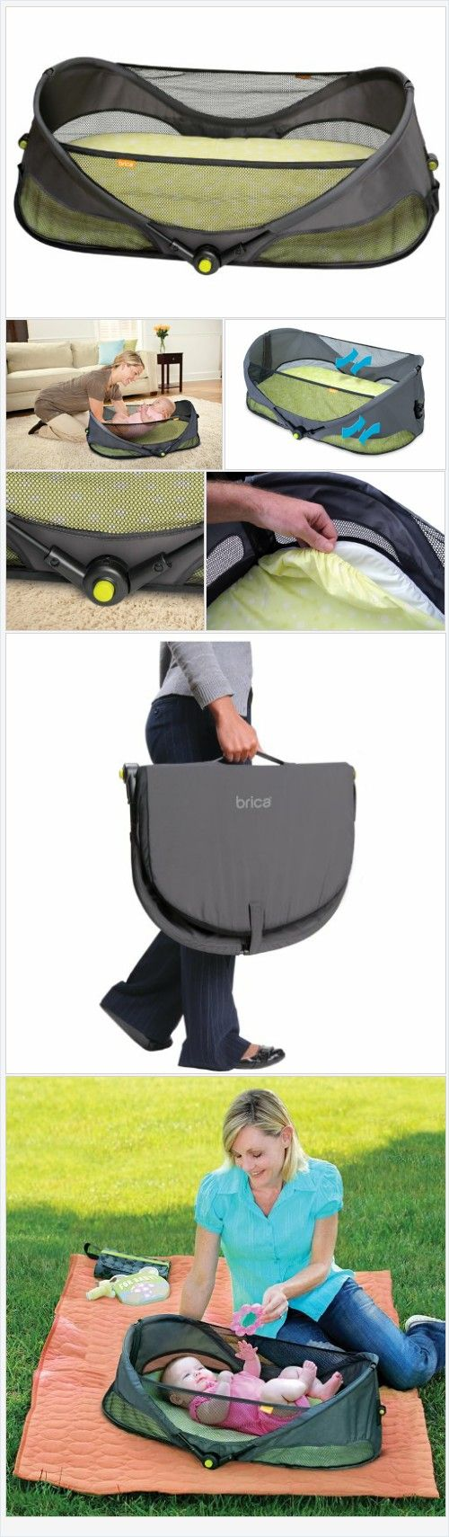 BRICA Fold N' Go Travel Bassinet - Every Thing Baby