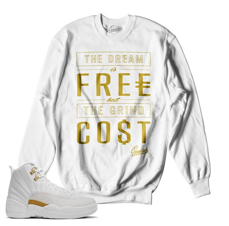 Jordan 12 OVO Sweater - Cost - White