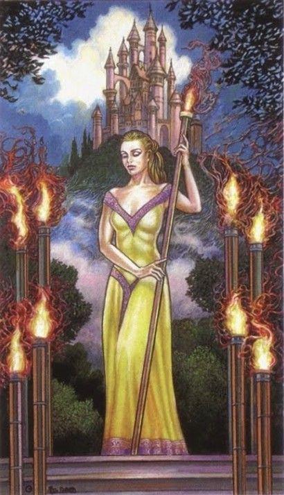 Resultado de imagem para 9 of wands