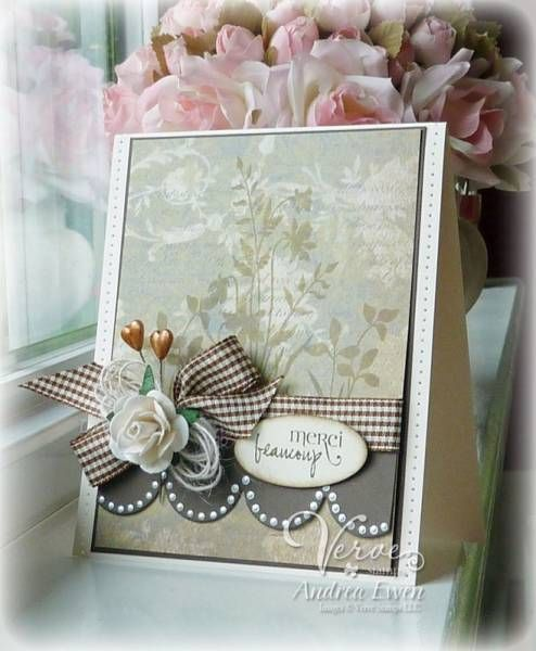 like the layout and colors, with a different ribbon and minus the 3d florals