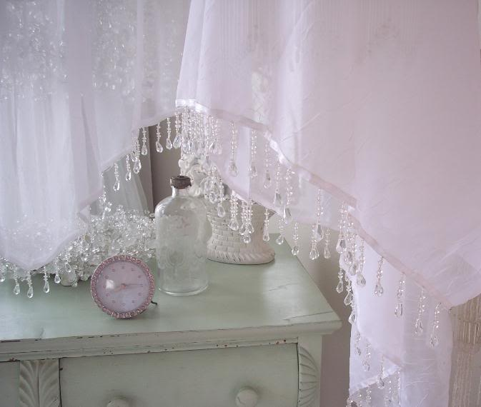 18 best shabby chic window treatments images on pinterest. Black Bedroom Furniture Sets. Home Design Ideas