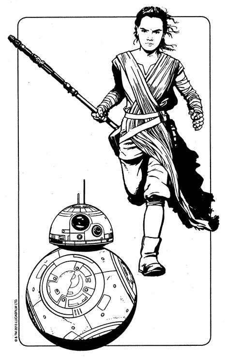 55 best coloring pages images on pinterest coloring for Star wars bb8 coloring pages