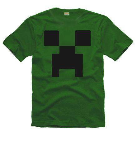 Camiseta Minecraft - Creeper em http://www.katanapresentes.com.br/5941f/camiseta-minecraft-creeper #minecraft #creeper #love