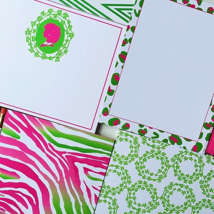 130 Best Stationery For Alpha Kappa Alpha Sorority Images