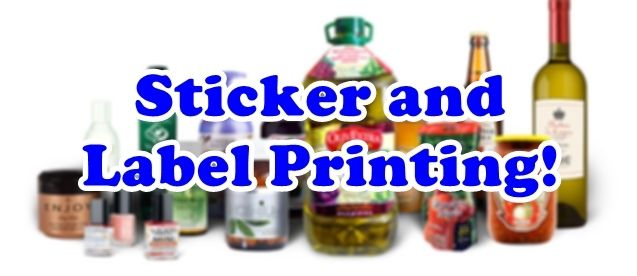 Print custom stickers and labels j printing center chicago all printing services you need in one place