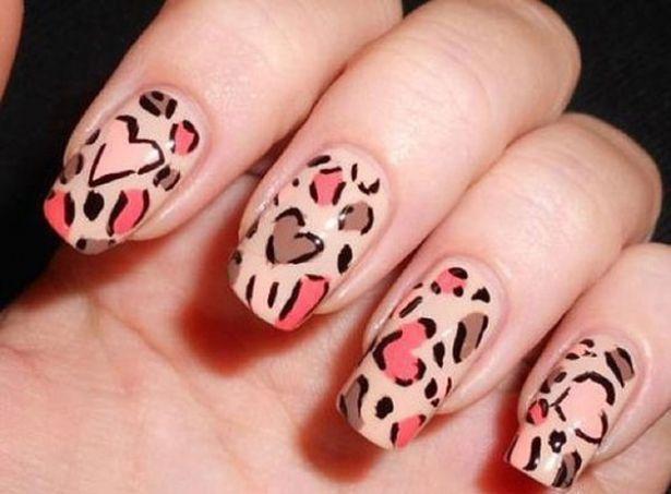 Uñas de leopardo.