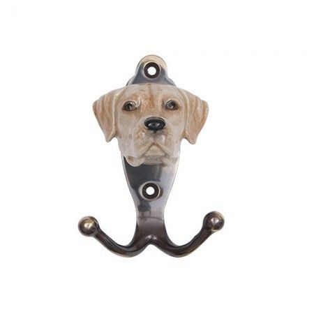 Porcelain Golden Labrador Hook - £36.99