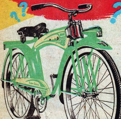 comic bike