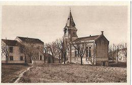 saint pantaleon les vignes - la mairie et les écoles  | En vente sur Delcampe