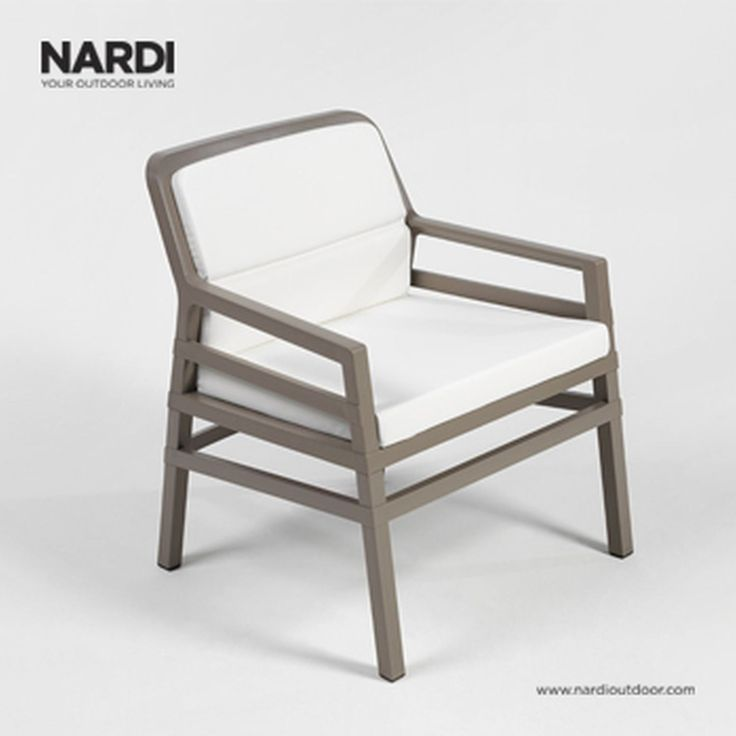 The Aria Fit Lounge Chair By Nardi Transforms Every Outdoor