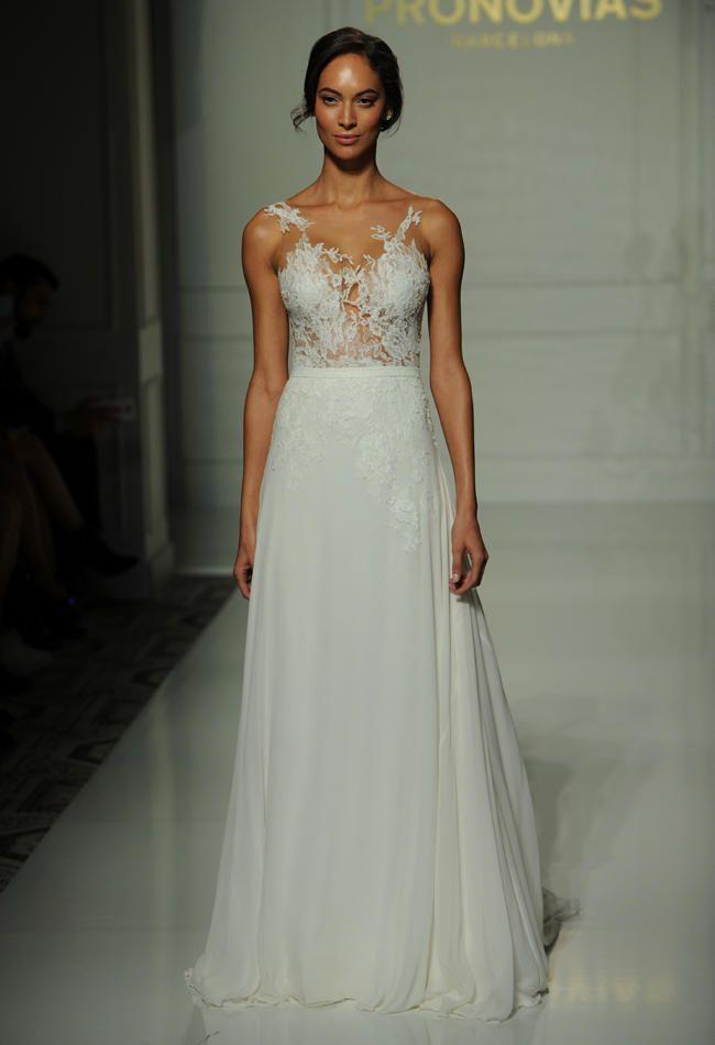Pronoviass Fall 2016 Wedding Dress Collection Is Sheer Romance