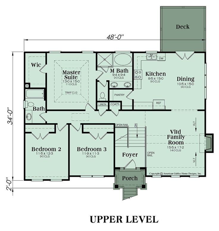Split Foyer Plan 1678 Square Feet 3 Bedrooms 2