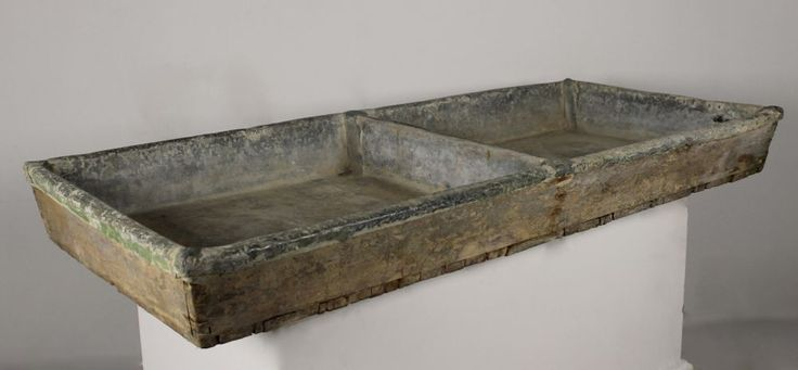 George III Large Country House Lead Scullery Sink