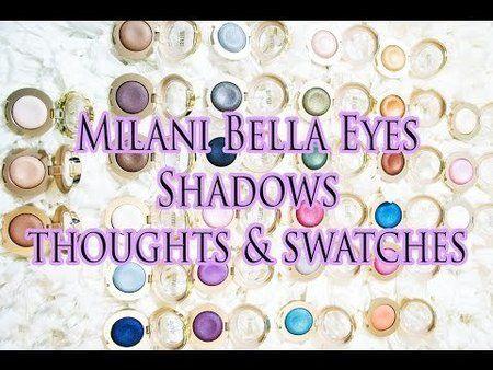 Milani Bella Eyes Gel Powder Shadows - Video Review #bblogger #productreview #honeygirlsworld - bellashoot.com